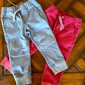 2 pair of boys pants Cat and Jack 2T